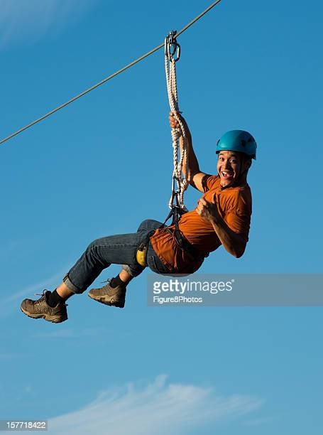 Riding on Canopy Tour