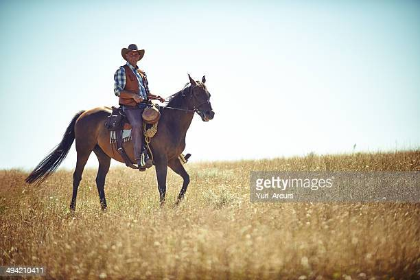 Équitation sur les plaines