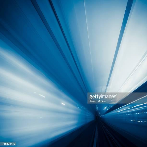 乗馬から地下鉄のトンネルをパリ,フランス