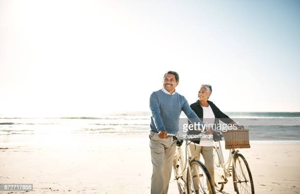 Riding through a peaceful retirement