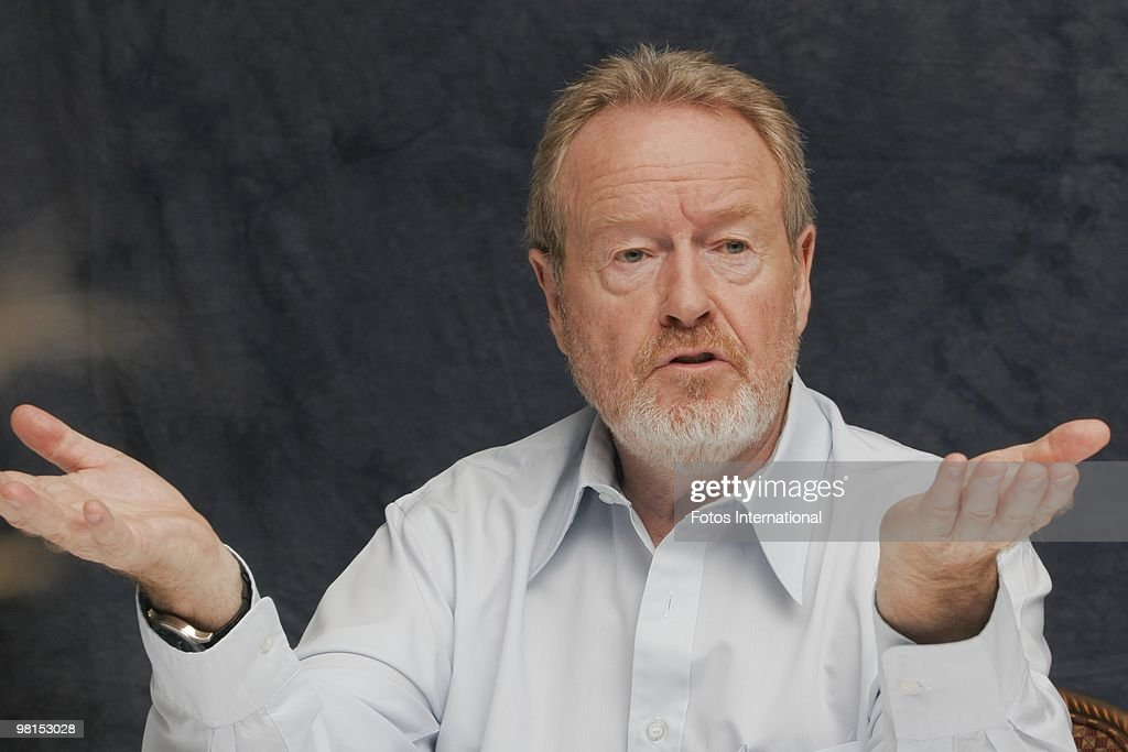 Ridley Scott at the Beverly Wilshire Hotel in Beverly Hills, California on September 28, 2008. (Photo by Munawar Hosain/Fotos International/Getty Images) Reproduction by American tabloids is absolutely forbidden.