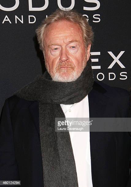 Ridley Scott attends the Exodus Gods And Kings New York Premiere at Brooklyn Museum on December 7 2014 in New York City