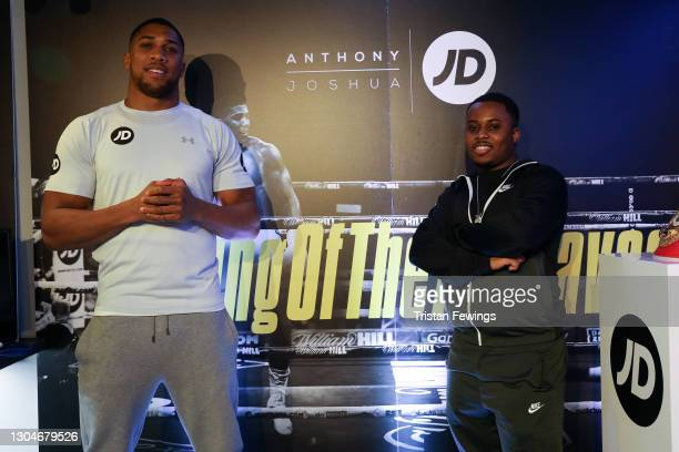 Rids attends as JD's Anthony Joshua hosts his #KingOfTheAirwaves radio show live on TikTok with a host of special guests including Munya Chawawa,...