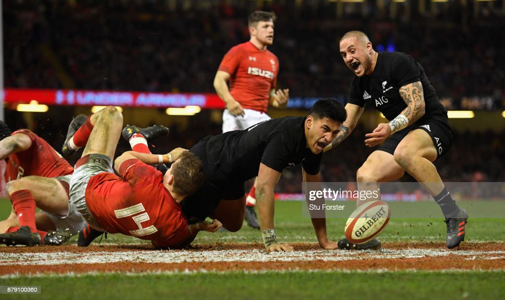Wales v New Zealand - International Match