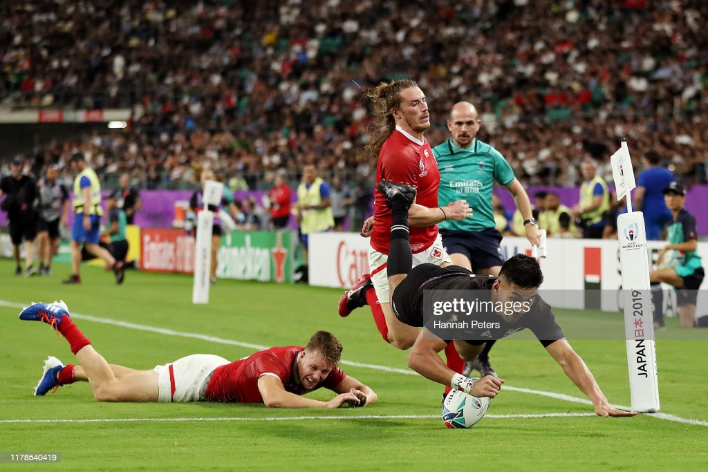 New Zealand v Canada - Rugby World Cup 2019: Group B : News Photo