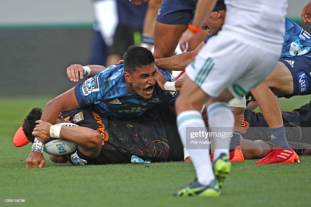 Super Rugby Rd 1 - Blues v Chiefs : News Photo