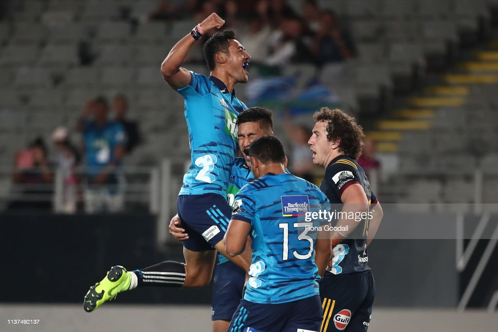 Super Rugby Rd 6 - Blues v Highlanders : Photo d'actualité