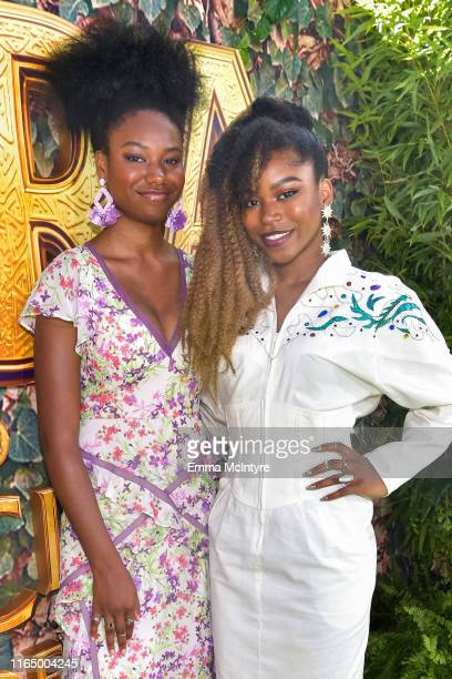 "Riele Downs and Reiya Downs attened the LA premiere of Paramount Pictures' ""Dora and the Lost City of Gold"" at Regal Cinemas L.A. Live on July 28,..."