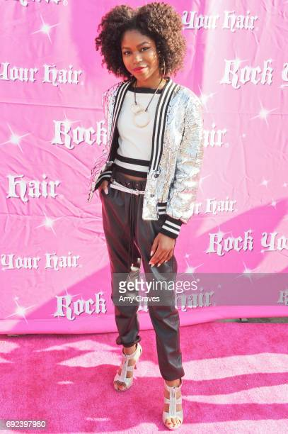 Riele Downs attends Rock Your Hair Presents Rock Your Summer Party and Concert on June 3 2017 in Los Angeles California
