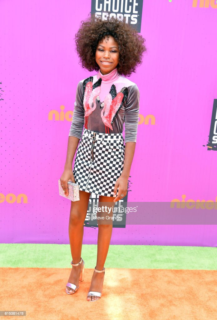 Nickelodeon Kids' Choice Sports Awards 2017 - Arrivals : News Photo