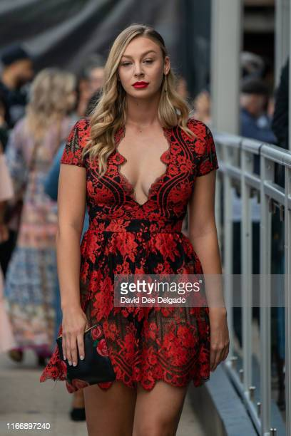 Rielli Portegys at Spring Studios during New York Fashion Week on September 8, 2019 in New York City.