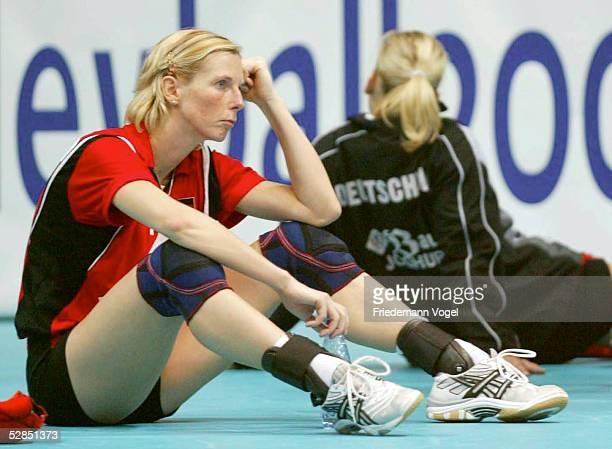 WM 2002 Riesa BRASILIEN DEUTSCHLAND 03 Beatrice DOEMELAND/GER enttaeuscht