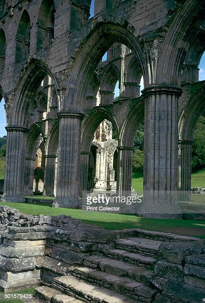 Rievaulx Abbey in Yorkshire, a former Cistercian monastery dissolved in 1538 by Henry the Eigth. Founded by French monks from Clairvaux abbey, it was...