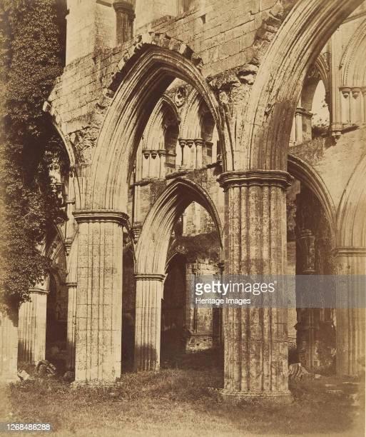 Rievaulx Abbey Looking Across the Choir 1850s Artist Joseph Cundall
