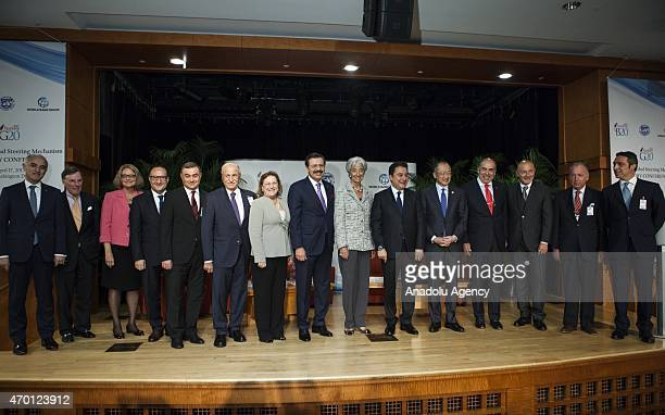Rifat Hisarciklioglu President of The Union of Chambers and Commodity Exchanges of Turkey and Christine Lagarde Managing Director of the IMF Deputy...