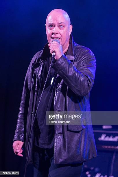 Riff Regan of London performs on day three of Rebellion Festival at the Opera House at Winter Gardens on August 6 2016 in Blackpool England