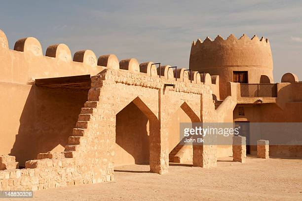 riffa fort, interior. - bahrain stock pictures, royalty-free photos & images