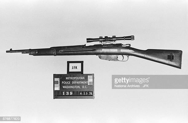 Rifle Allegedly Used in Kennedy Assassination
