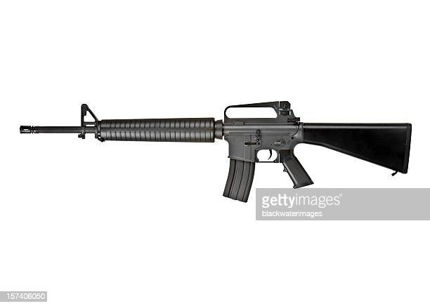 m-16 rifle - rifle stock pictures, royalty-free photos & images