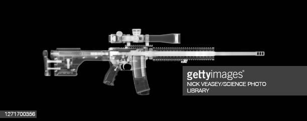 ar15 rifle, x-ray - ammunition stock pictures, royalty-free photos & images