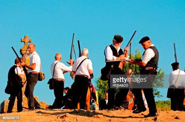 Riflemen of the ArdiaSedilo townSardiniaItaly