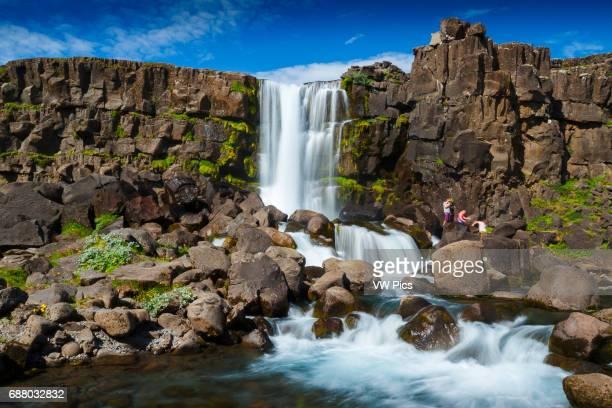 Rift Valley Pingvellir National Park Golden Circle Iceland