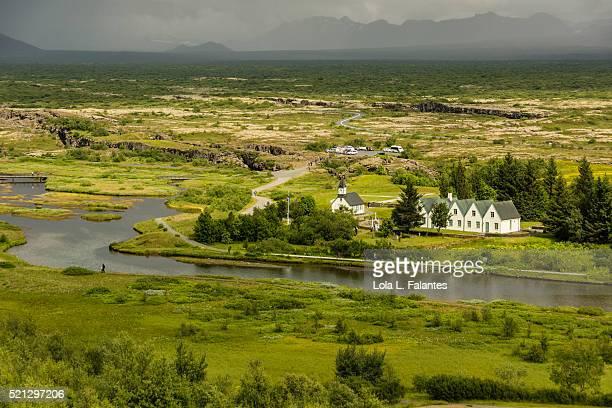 Rift valley, Thingvellir