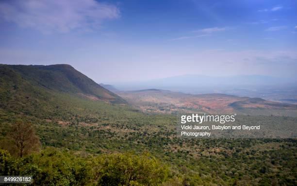 Rift Valley View in Kenya
