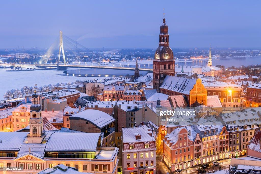 Riga Cathedral, Riga, Latvia : Stock Photo