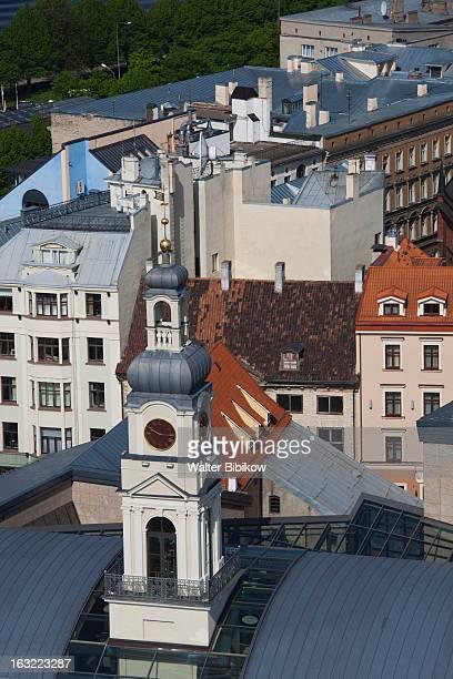 riga, latvia, city view - リガ ストックフォトと画像