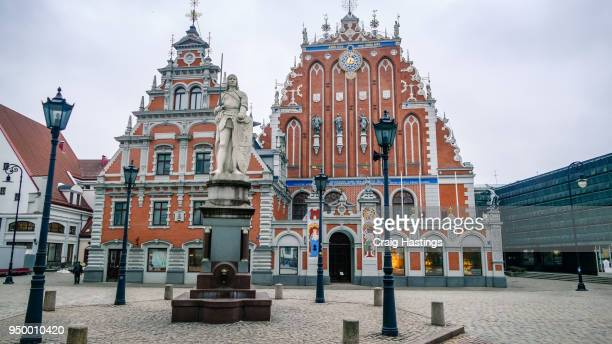 riga latvia things to see and do city attractions - blackheads stock photos and pictures