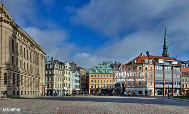 riga old town - old town stock pictures, royalty-free photos & images