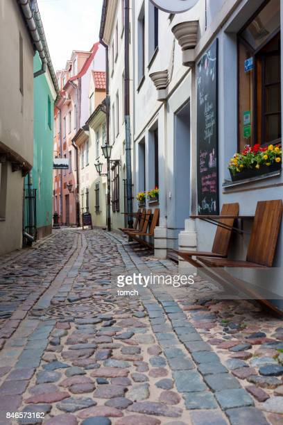 Straat van Riga, Letland