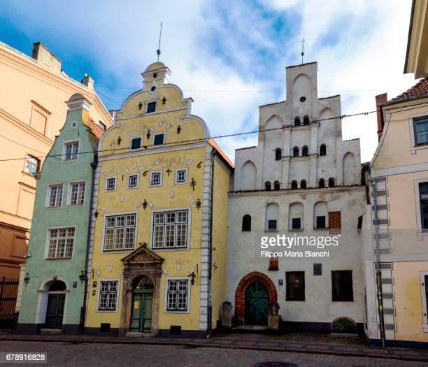 Riga, The Three Brothers