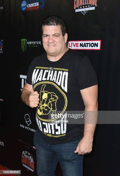 Rigan Machado attends 50K Charity Challenge Celebrity Basketball Game at UCLA's Pauley Pavilion on July 17 2018 in Westwood California