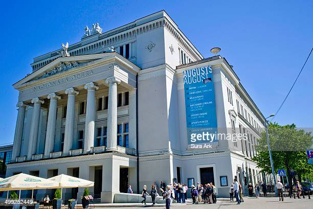 CONTENT] Riga's Opera House was one of the first buildings to get a full makeover following the ousting of the Soviets in 1991