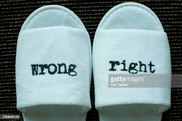 right and wrong - morality stock pictures, royalty-free photos & images