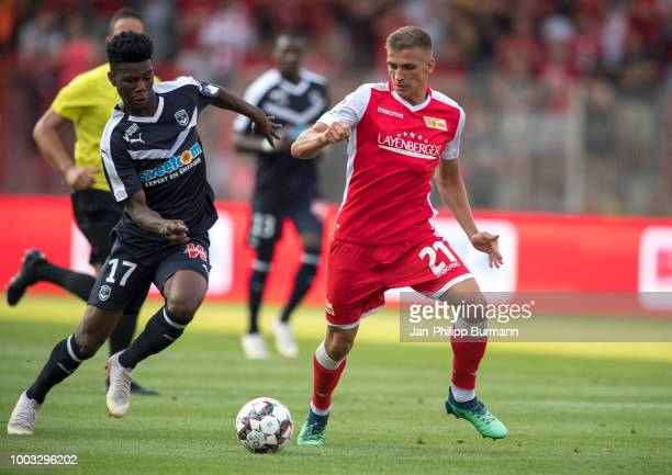 Grischa Proemel of 1FC Union Berlin during the test match between Union Berlin and FC Girondins Bordeaux at Stadion an der alten Foersterei on July...