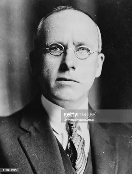 Right Honourable Peter Fraser Prime Minister of New Zealand 1940-1949. Born in Scotland, unable to find work in Britain, he emigrated to New Zealand...