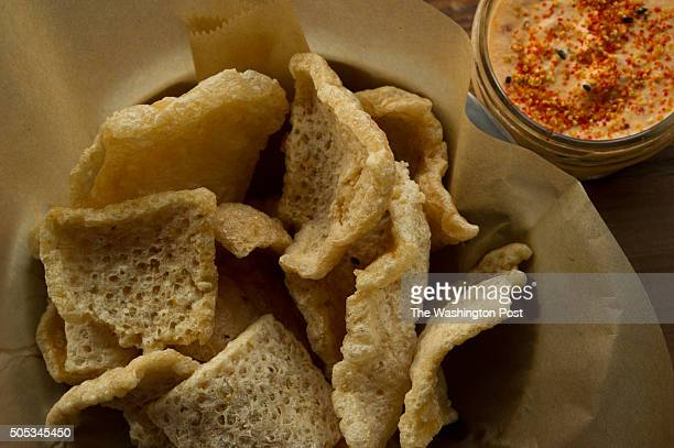 Right Proper is a brew pub in DC's Shaw neighborhood which features pork rinds and pimento cheese on the menu in Washington DC on July 11 2014