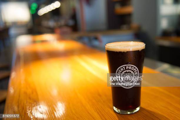 Right Proper is a brew pub that employs one of the most innovative brewers working in town Nathan Zeender in Washington DC on July 11 2014 He's...