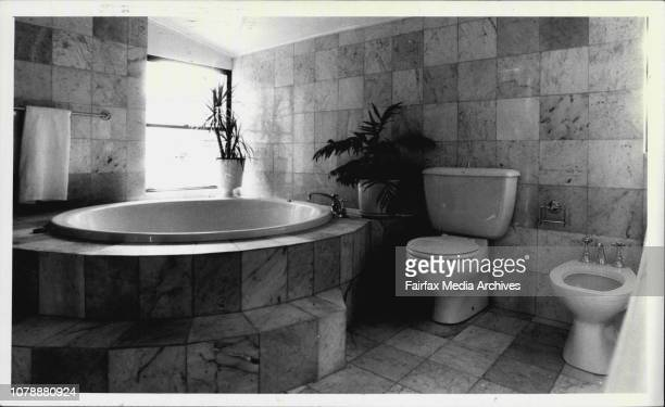 The en-suite bathroom of the main bedroom is in full marble and has a spa and bidet. The house will be auctioned by Raine and Horne on February 14....
