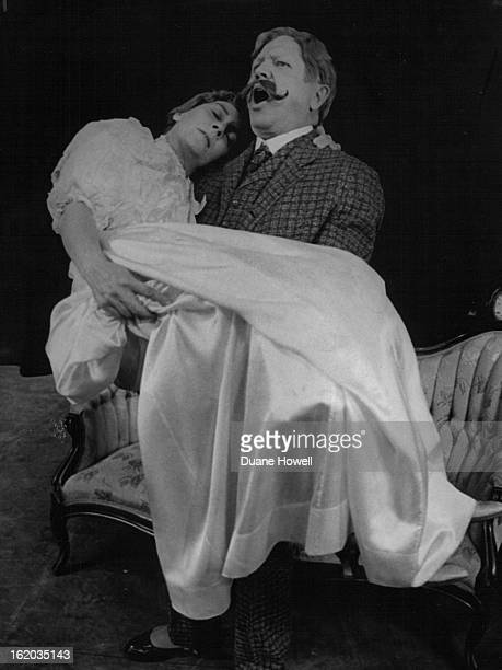 NOV 9 1966 NOV 14 1966 Right Time to Faint In Victorian days when a lady couldn't cope she fainted Here Maxine Long as Vinnie Day collapses into the...