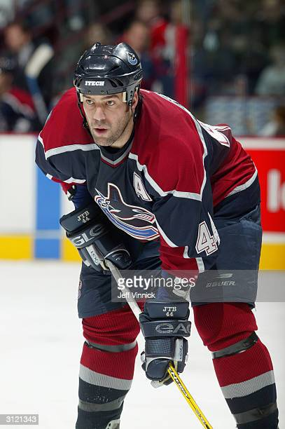 Right wing Todd Bertuzzi of the Vancouver Canucks skates on the ice during the game against the Nashville Predators at General Motors Place on...