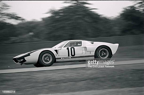 A righthanddrive GT40 was driven during the preview of the new FOMOCO models at the Ford Proving Grounds north of Detroit