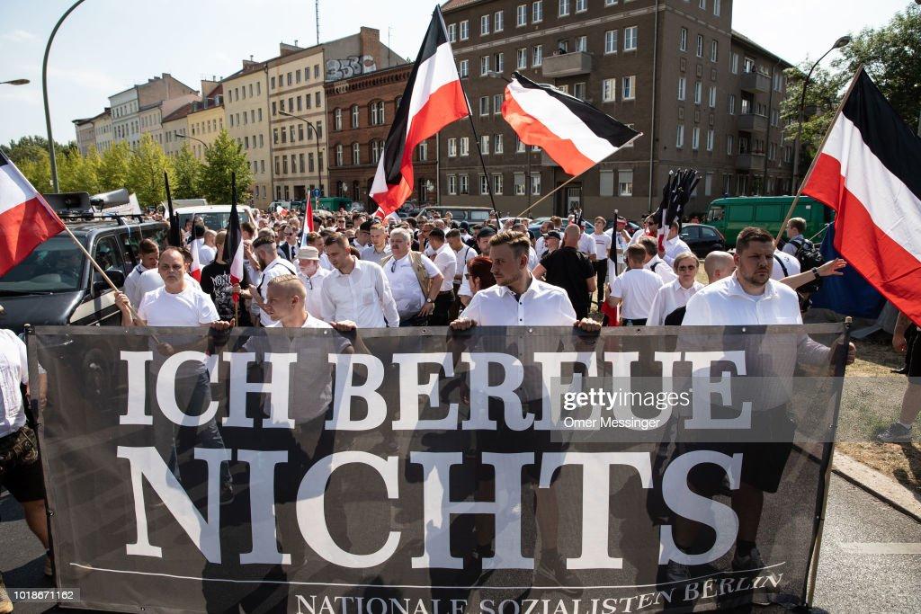 Neo-Nazis Commemorate Rudolf Hess