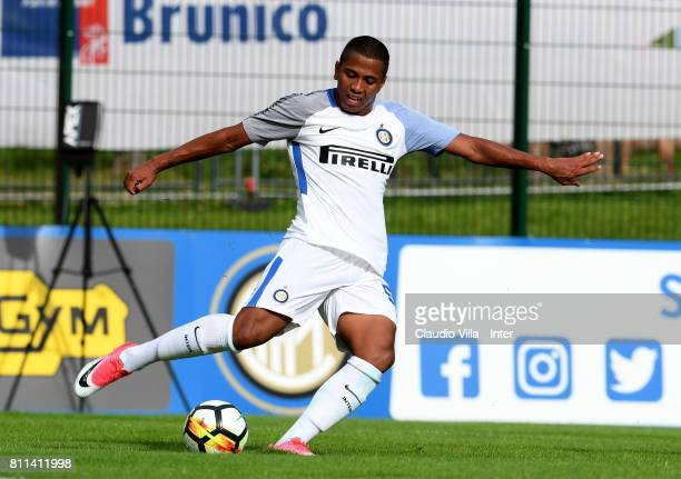 Rigoberto Rivas of FC Internazionale in action during the Preseason Friendly match between FC Internazionale and Wattens on July 9 2017 in Reischach...