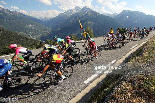 Rigoberto Uran of Colombia and Team EF Education First Drapac P/B Cannondale / Yves Lampaert of Belgium and Team QuickStep Floors / Luke Durbridge of...