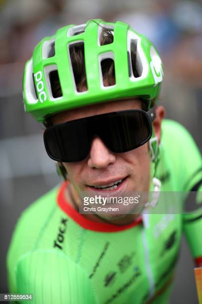 Rigoberto Uran of Colombia riding for Cannondale Drapac prepares to start stage 10 of the 2017 Le Tour de France a 178km stage from Périgueux to...