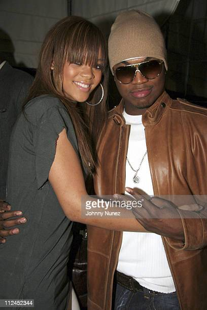 Rihanna and NeYo during Nokia and Def Jam Presents NeYo Album Release Party at Vice Roy Hotel in Los Angeles California United States
